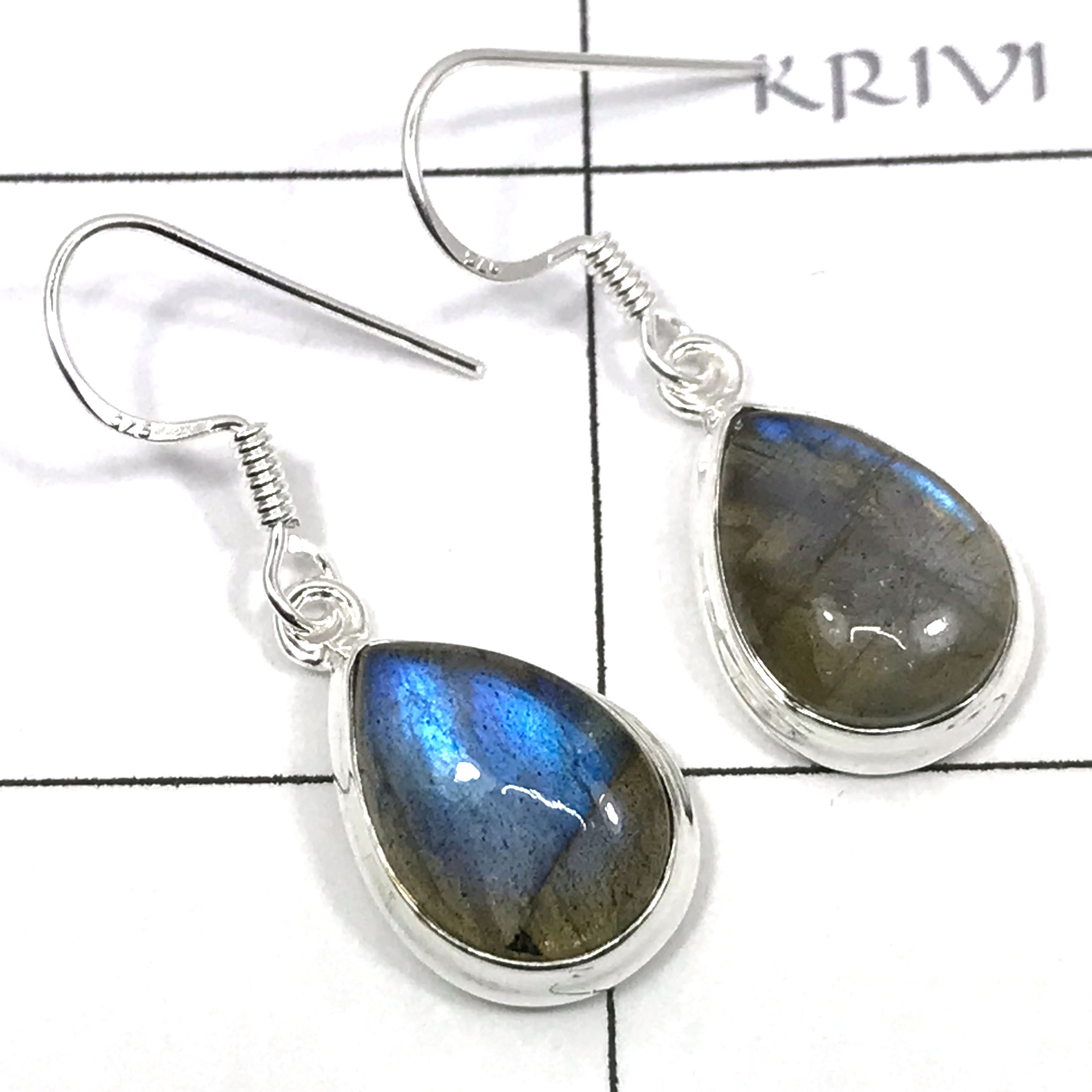 pearl earrings handmade labradorite and jewelry product