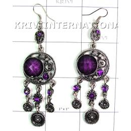 KELL11C53 Stylish Costume Jewelry Hanging Earring