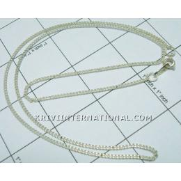 KNLK01026 Elegant Indian Jewelry Silver Look Chains