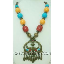 KNLK10007 Fashionable Gypsy Look Necklace