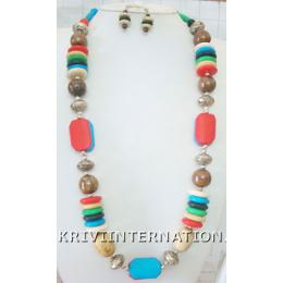KNLK10021 Beautifully Crafted Costume Jewelry Necklace