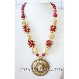 KNLL02007 Fashionable Gypsy Look Necklace