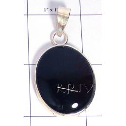 KPLL09133 Best Quality White Metal Moss Agate Pendant