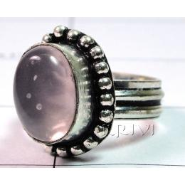 KRLL09006 Stunning German Silver Gemstone Ring