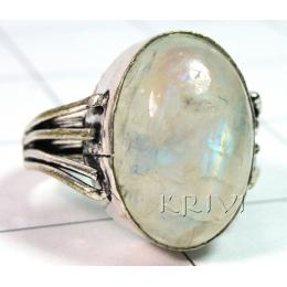 KRLL09010 Wholesale German Silver Gemstone Ring